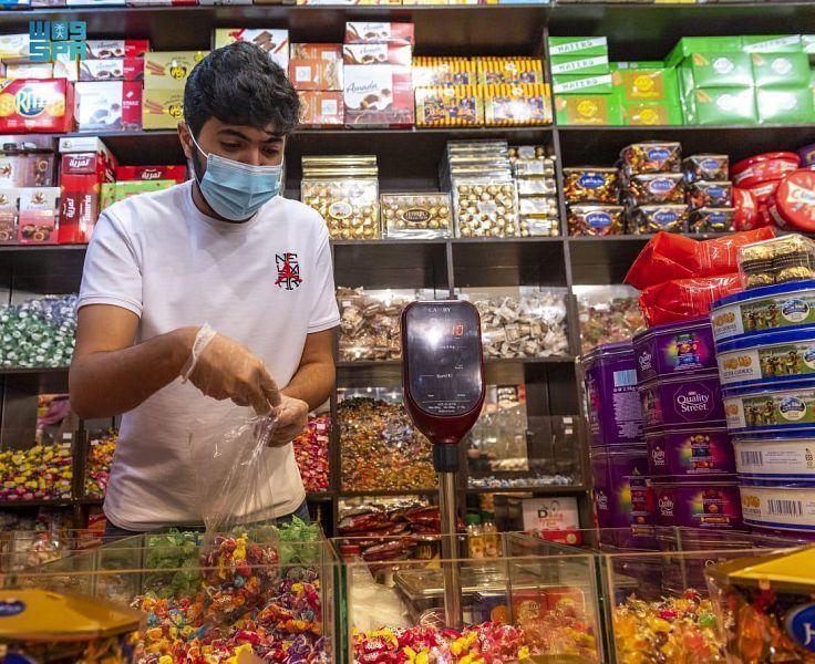 أسواق الحلويات في الباحة