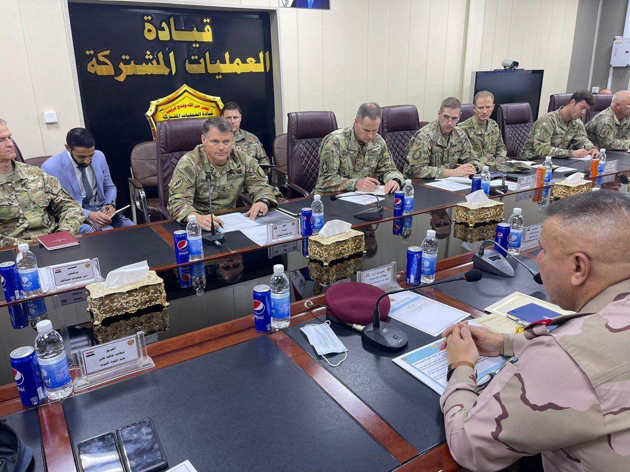 بغداد وواشنطن تتفقان على تقليص الوحدات القتالية الأمريكية في العراق
