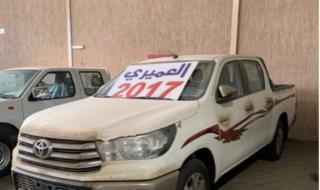 تويوتا هايلكس 2017 سعودي GLX2 اصفار