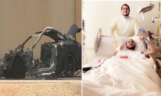 الأمير محمد بن خالد بن طلال يكشف تفاصيل حالته الصحية بعد نجاته من حادث مروع