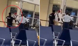 شاهد.. شرطي يصفع مغني راب شهير في مطار هولندي بسبب فحص كورونا