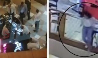 """شاهد.. فيديو جديد يكشف اللحظات الأولى بعد انتحار فتاة في مول """"سيتي ستارز"""" بمصر"""