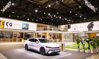 هواوي تقتحم سوق السيارات الكهربائية بنظام هارموني أو إس