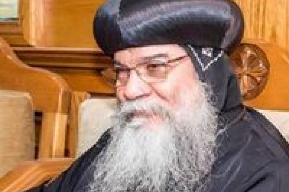 الأنبا مكاريوس يعلن عودة الصلوات بعد انقطاع 6 أشهر