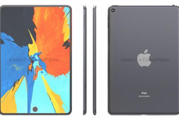 تسريبات مصورة تكشف عن تصميم جهاز iPad mini 6 بثقب في الشاشة