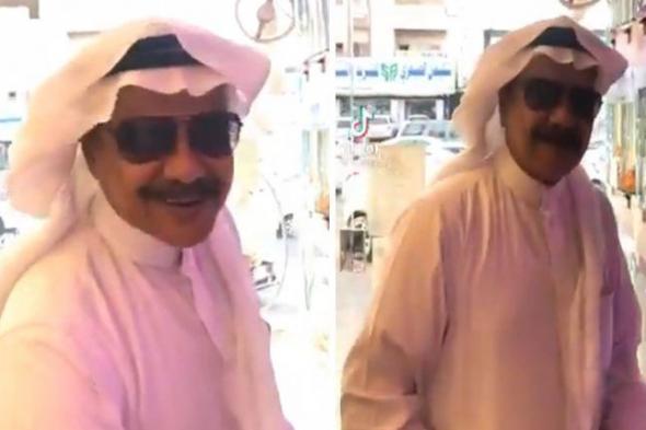"""متداول : شاهد.. فيديو لشبيه """"طلال المداح"""" يشعل مواقع التواصل الاجتماعي !"""
