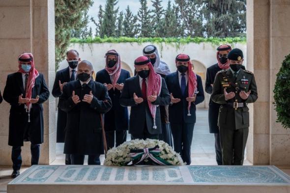 الملك عبدالله الثاني والأمير حمزة معًا للمرة الأولى بعد الأحداث الأخيرة