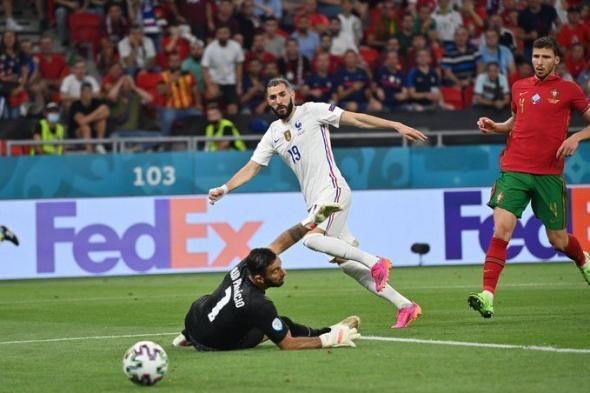 البرتغال تتعادل مع فرنسا بشق الأنفس ويتأهلان لـ دور الـ16