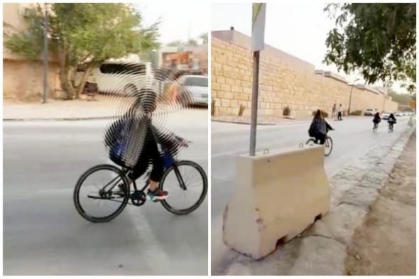 بيان أمني بشأن مقطع لحارس أمن صور فتيات يركبن الدراجات بالرياض وتلفظ عليهن