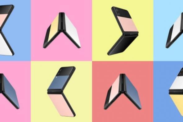 سامسونج تطلق نسخة Bespoke Edition من Galaxy Z Flip 3 لتتيح للمستخدمين اختيار تصميمهم المفضل
